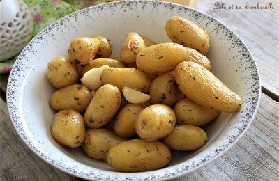 Recette Mini Deux Pommes de terre au four